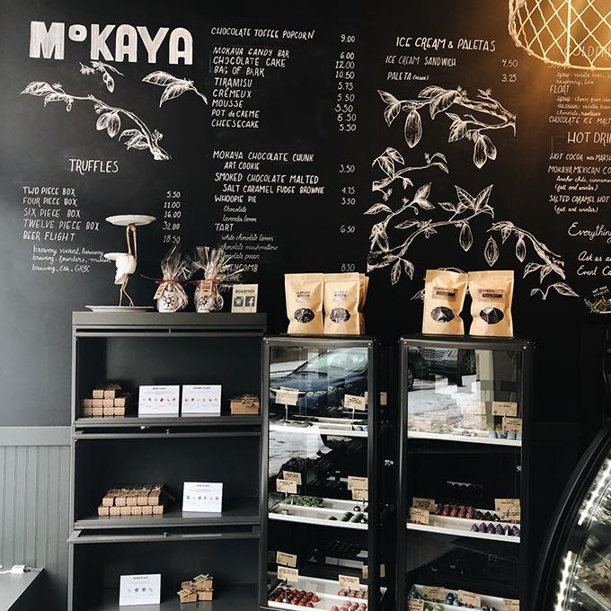 A peek inside Mokaya!