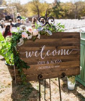 Diy Rustic Wedding Signs Perfect Planners
