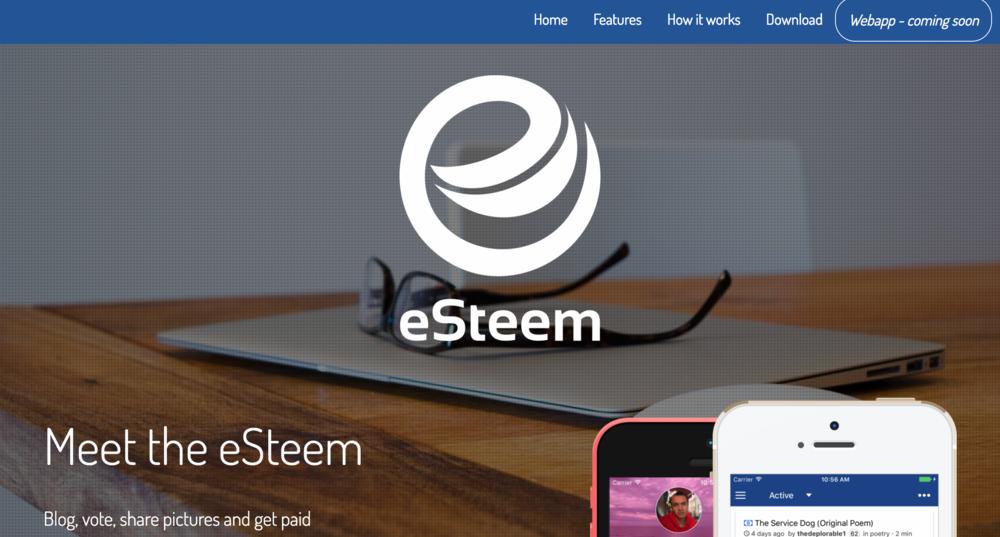 eSteem.ws - eSteem.ws is mobile, web, and desktop apps built on the STEEM blockchain.