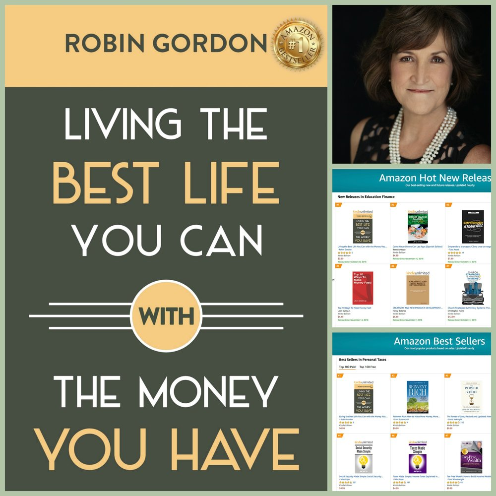 #1 Best Seller - in 15 categories including Personal Finance and Money Management.