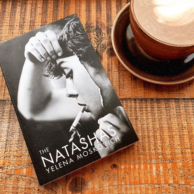 I started my first book club read for January today – there's a lot to go through over the next two months as I try to read all the books on my #tbr in an attempt to get them out of the house. First up: The Natashas by Yelena Moskovitch. 30 pages in I'm not sure what to think of the story, but don't you love this cover?  #bookstagram #unitedbookstagram #booksandcoffee #coffeeandbooks #bookstagramuk #coffeeshop #afterlight #amreading #currentread