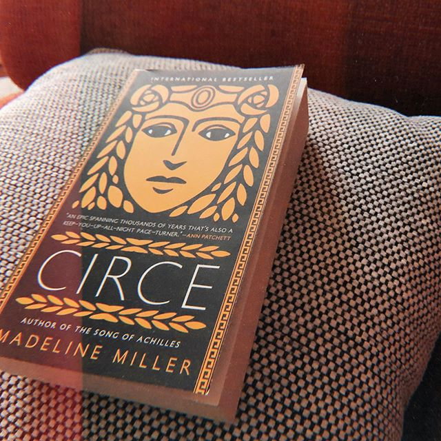 "I didn't expect to find a paperback copy of ""Circe"" in a small bookshop in my hometown, but here we are. And I would like to put my life on hold until I have read it at least once, possibly twice, even though I'm almost halfway through and both can't wait to keep reading and don't want it to end.  #bookstagram #unitedbookstagram #amreading #circe #books"