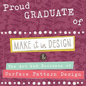 - As of December 2017, Natalie is a proud graduate of the MIID Art & Business of Surface Pattern Design program. She is absolutely thrilled to be creating patterns on a daily basis for several lifestyle markets - including interiors (wallpaper, home decor) and textiles (bolt fabric, apparel).You can visit the SHOP section to find select products made with Natalie's patterns or contact us directly for the password to view her portfolio.
