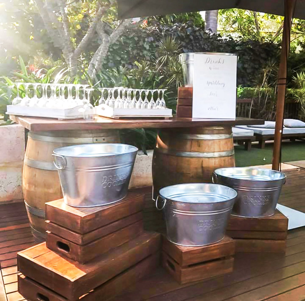 Create something unique - Make your bar a feature with our wine barrel bar
