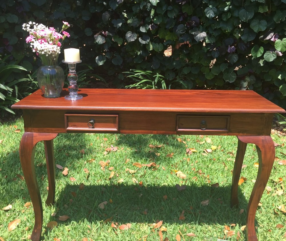 Wooden table:$70 - Perfect for a signing table or a gift/guestbook table