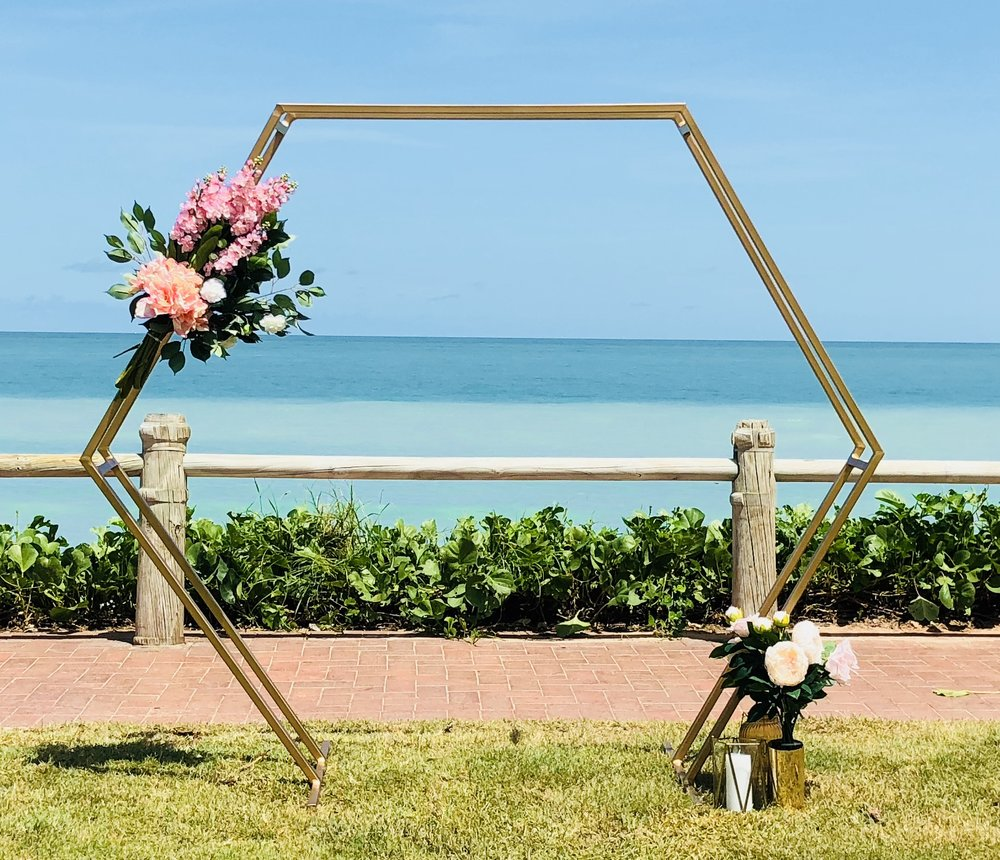 Gold Hexagon Arbour 2.jpg