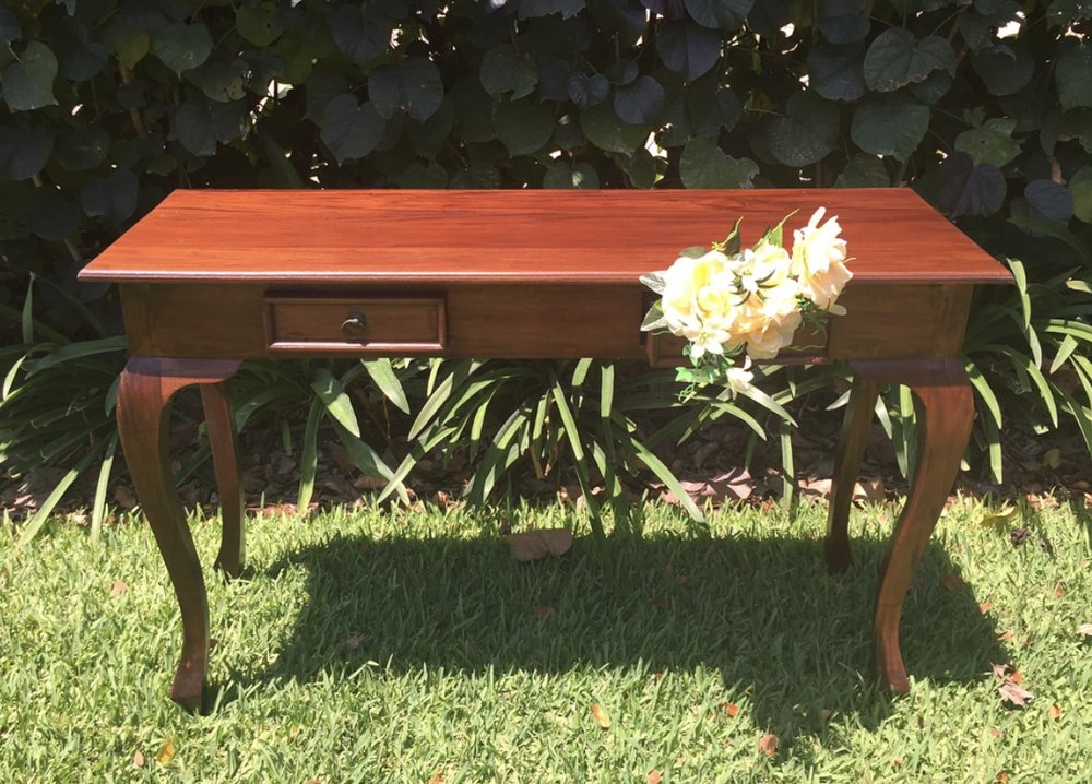 Vintage signing table: $70 -