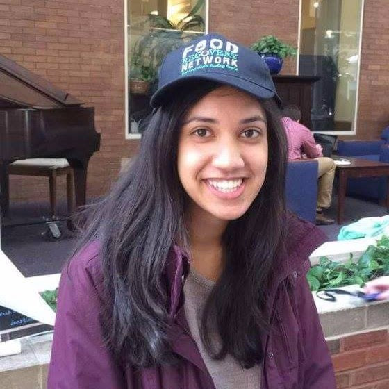 """I am a 4th year student majoring in Nutritional Biochemistry and Metabolism and getting a minor in religious studies. I have been involved with Food Recovery Network since my freshman year, and it has been the most meaningful part of my college experience. FRN enabled me to fulfill my role as a student in Cleveland, and I love being able to connect with my local community. On rare occasions when I am not studying at Rising Star, I love to cook, go running, and watch The Office on Netflix. My vision for the future of FRN is to have it grow tremendously and become an integral part of CWRU. I want the entire student body to be involved in food recovery; just 15 minutes of your time makes a big difference for our hungry Cleveland neighbors."""
