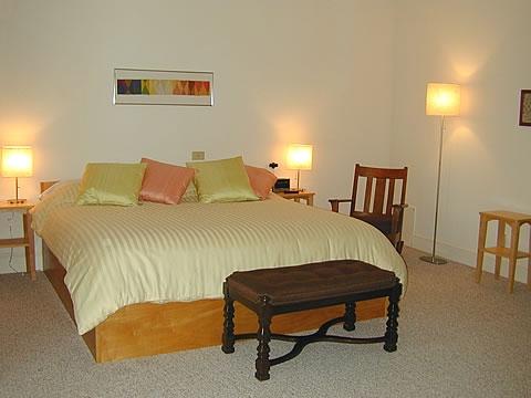 Bedroom 1 - Upper Level Guest Room $100.00 per night