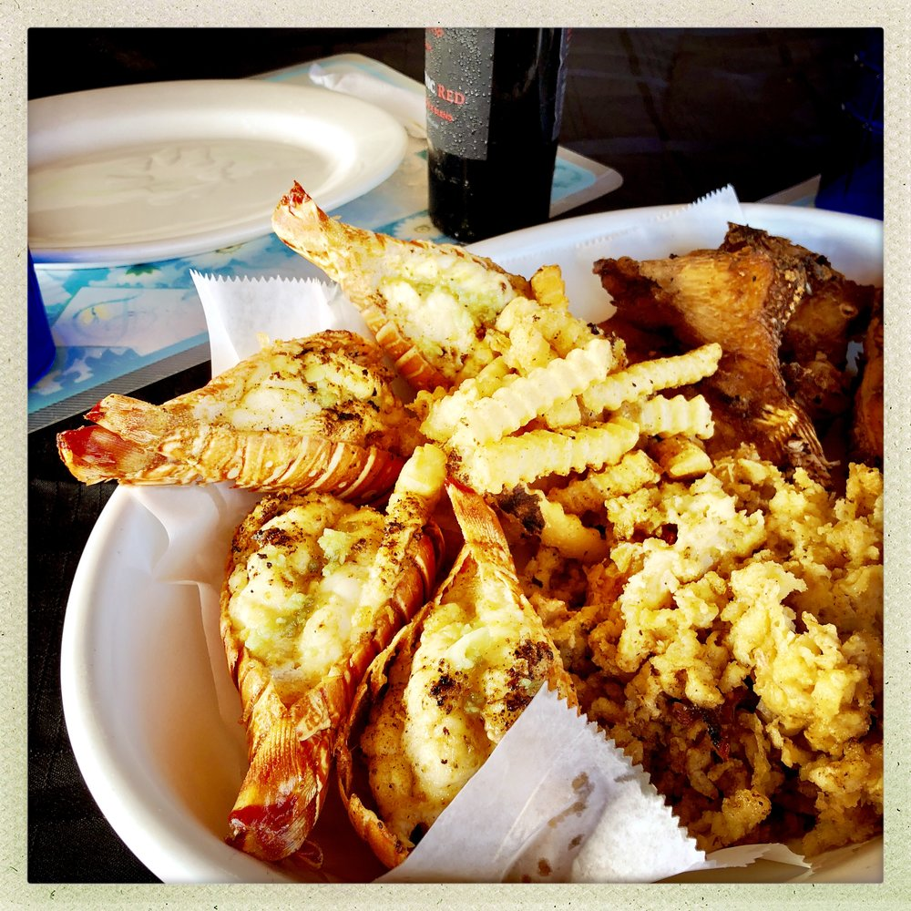 LOBSTER DINNER at BERTHA'S