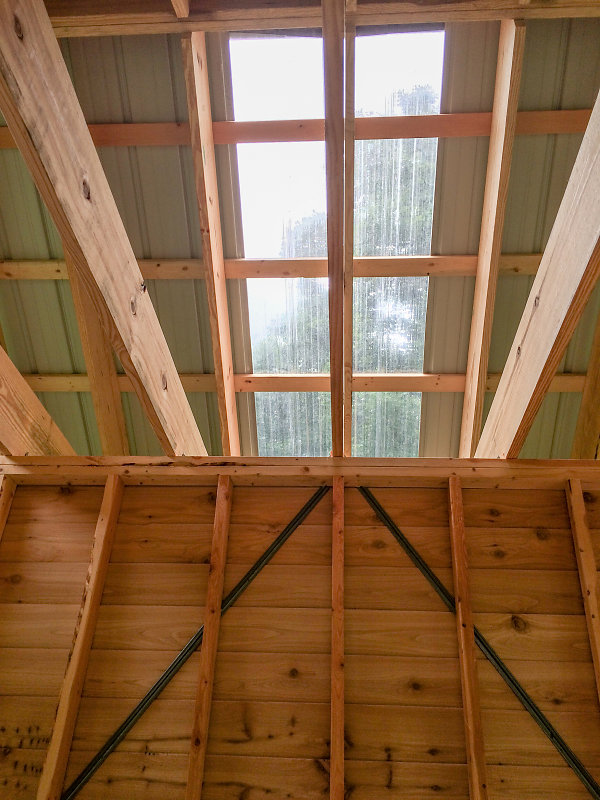 Hale's Potting Studio - Polycarbonate Rooflight