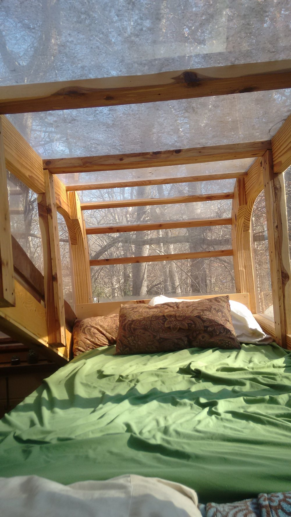 Woolly Resistance - Lofted single bed / growing space
