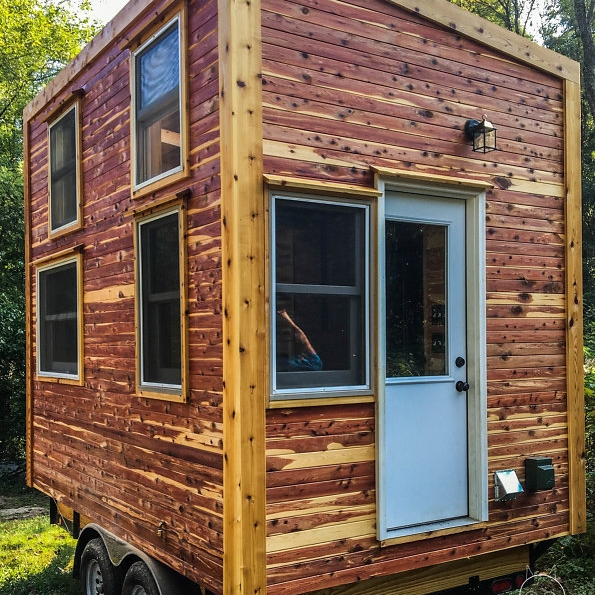 Tiny Homes - Tiny homes are fully equipped to be year round, full time residences and can either be on wheels or permanent foundations.