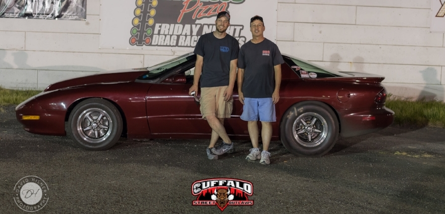 Chris Scarlata- June 1, 2018 Limited Street Winner (Chris Scarlatta and his father Phil Pictured)