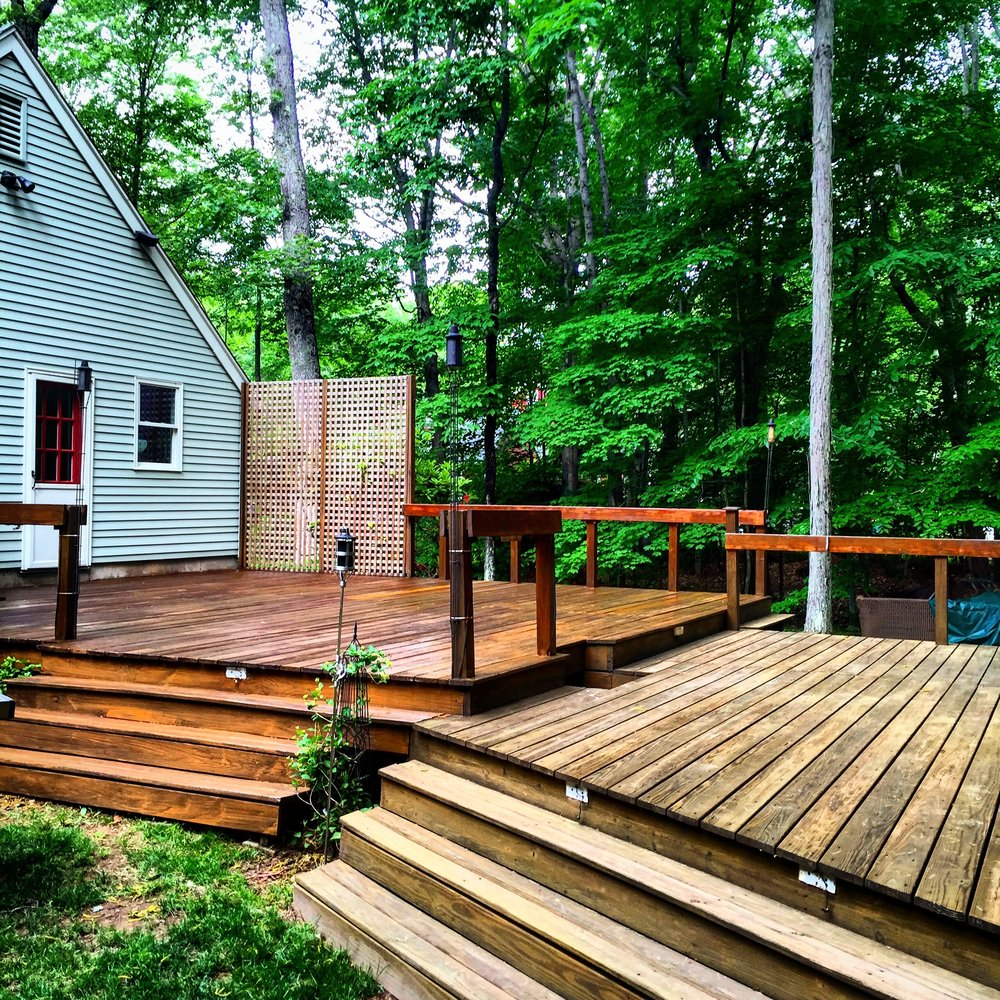 Deck Savers : Powerwash, stain, and deal decks in Connecticut