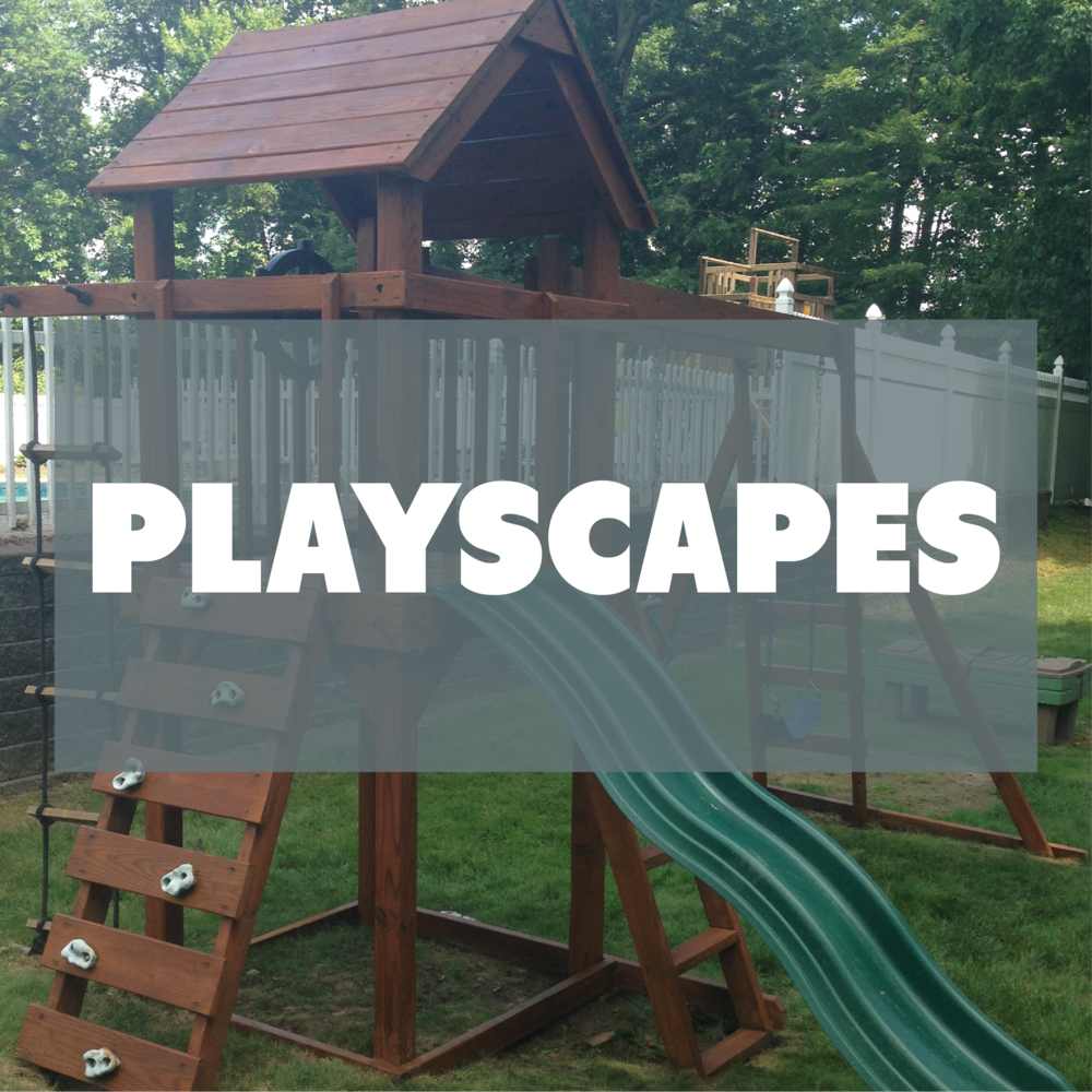Deck Savers : Powerwash and refinish playscapes in Connecticut