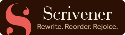 Scrivener offers a free 30 day trial for PC & Mac The trial is based on days USED, so if you only use it once a week the trial will last 30 weeks! Click the button above to learn more about Scrivener for PC, Mac, or iOS.