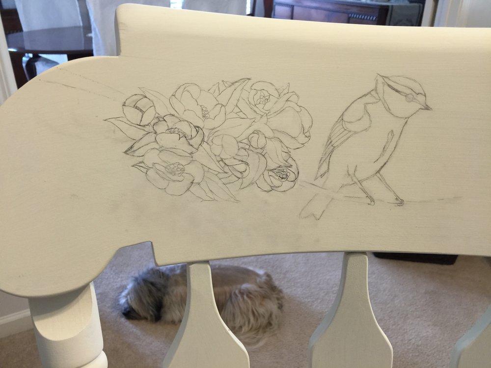 Left Hand Sketch