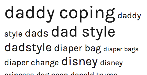 Daddy Coping In Style - Gavin's Blog