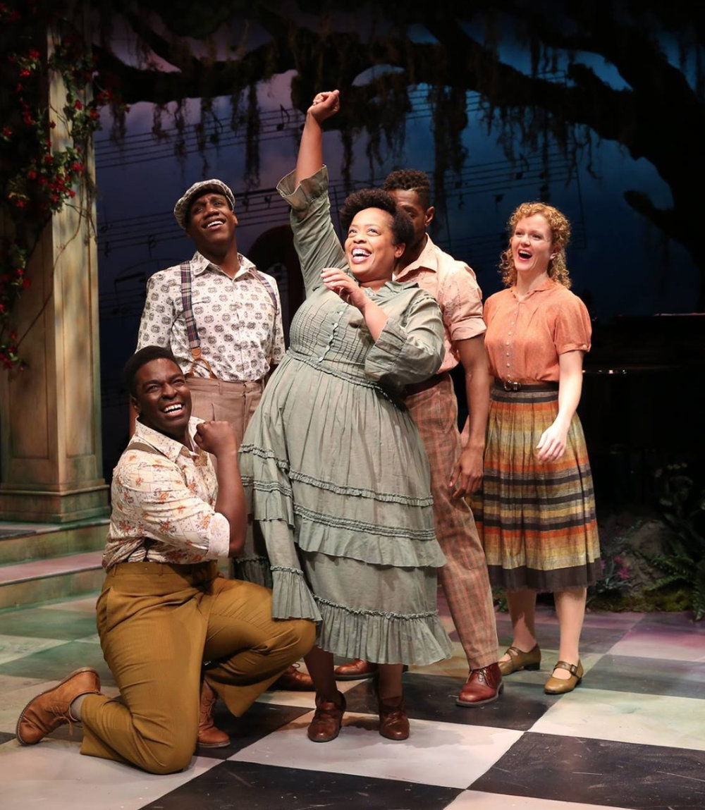 Ramone Owens, Kyle Taylor Parker, William Bellamy, Angela Grovey & Kimberly Doreen Burns in FINIAN'S RAINBOW