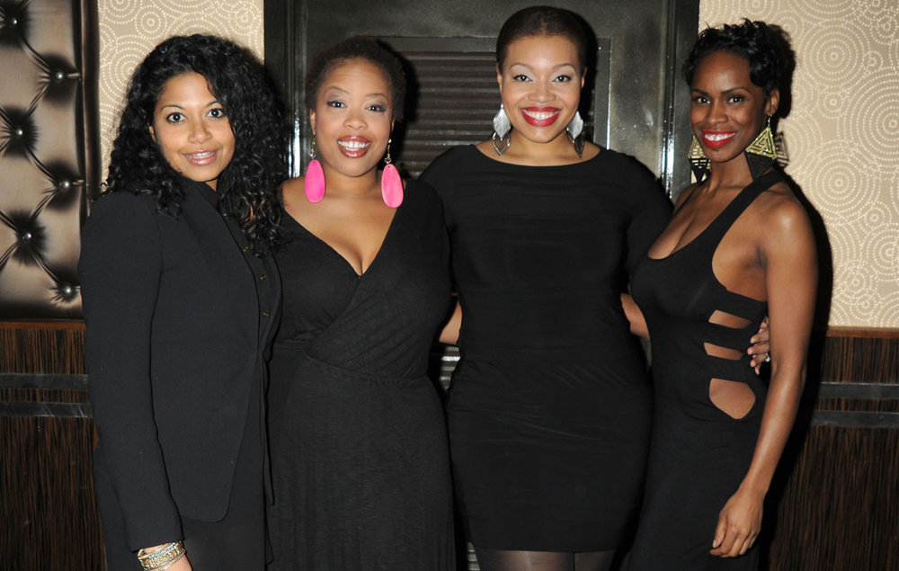 Rebecca Naomi Jones, Angela Grovey, Carmen Ruby Floyd & Mckenzie Frye
