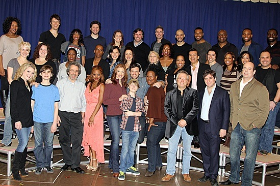The cast and creative team of LEAP OF FAITH