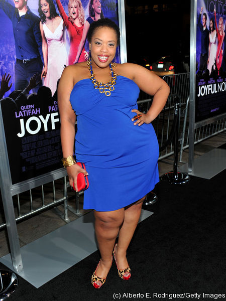 Angela Grovey at the premiere of Warner Bros. Pictures' JOYFUL NOISE