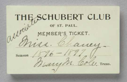 "The Schubert Club - Established in 1882, The Schubert Club was one of the first arts organizations in America and it continues to present some of the world's greatest artists in St. Paul, Minnesota, every season. The Miró Quartet appears regularly on The Schubert Club's ""Music in the Park"" Series."