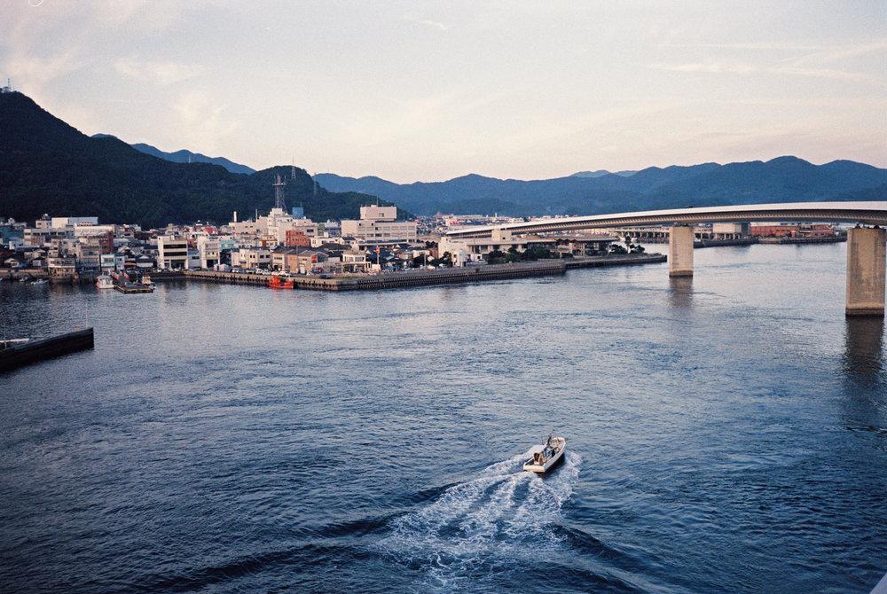 Ushibuka Port  | 牛深港