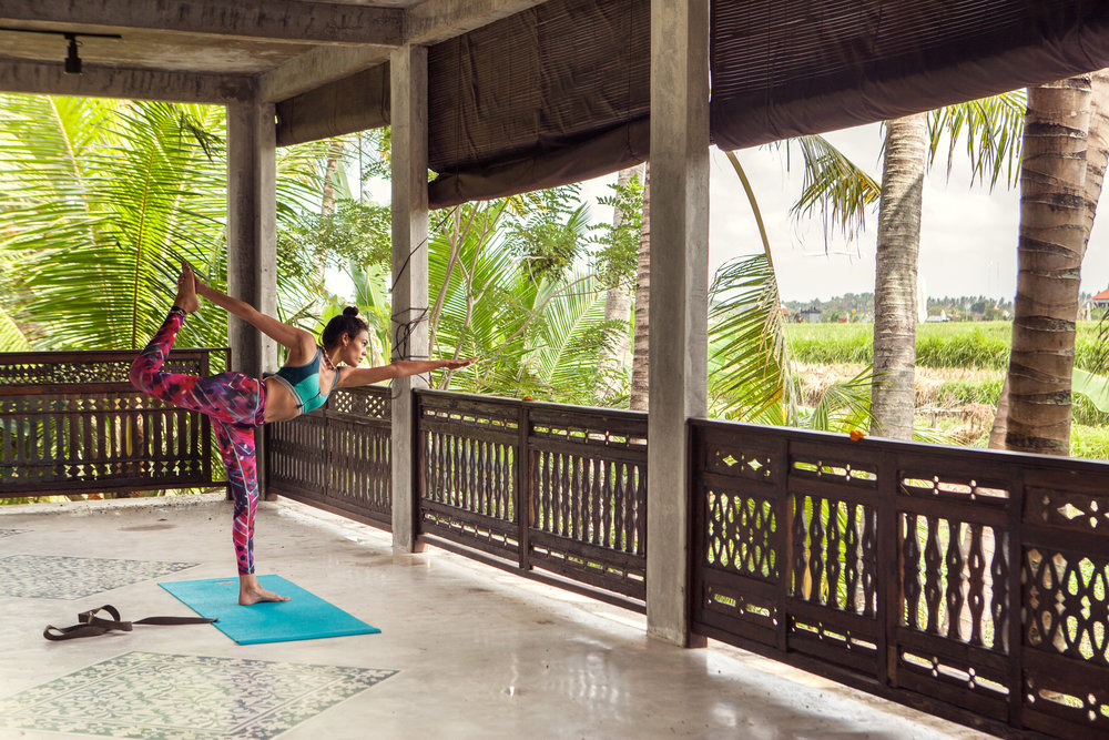 Wellness - Feel good, release stress, and relax the body with yoga, meditation and spa massages.
