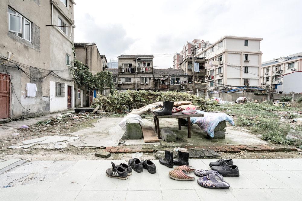 Guangfuli neighbourhood, Shanghai (2016). Photo by Alessandro Zanoni.