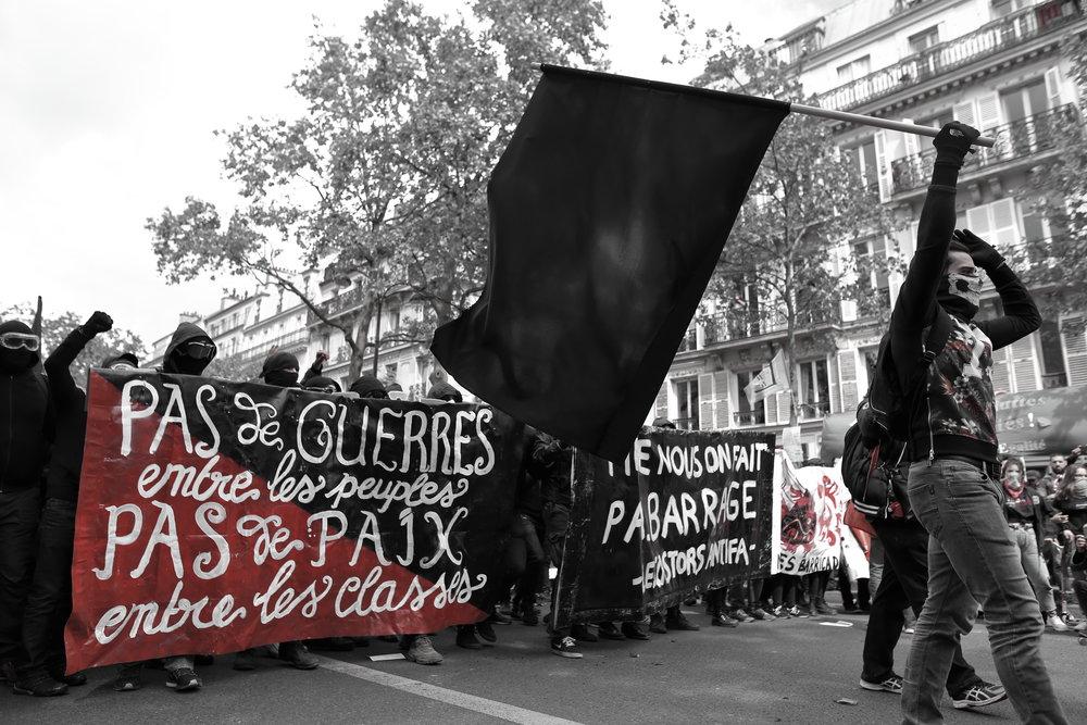 1er mai (Paris, 2017). Photo by Naomi Waltham-Smith.