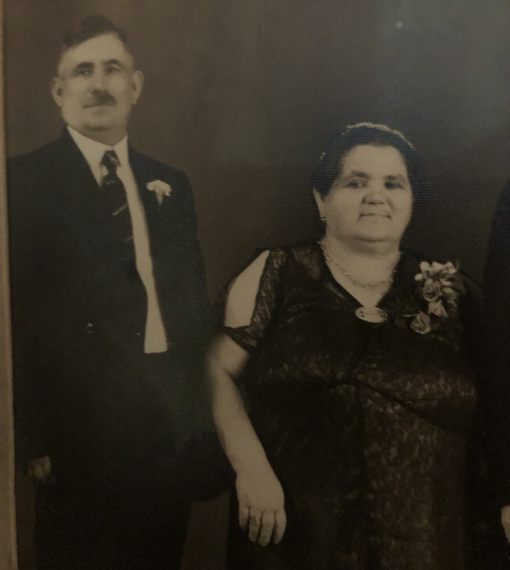 My paternal grandparents Nathan Mark (Nachman Muravin) and Sarah Temnogorod Mark