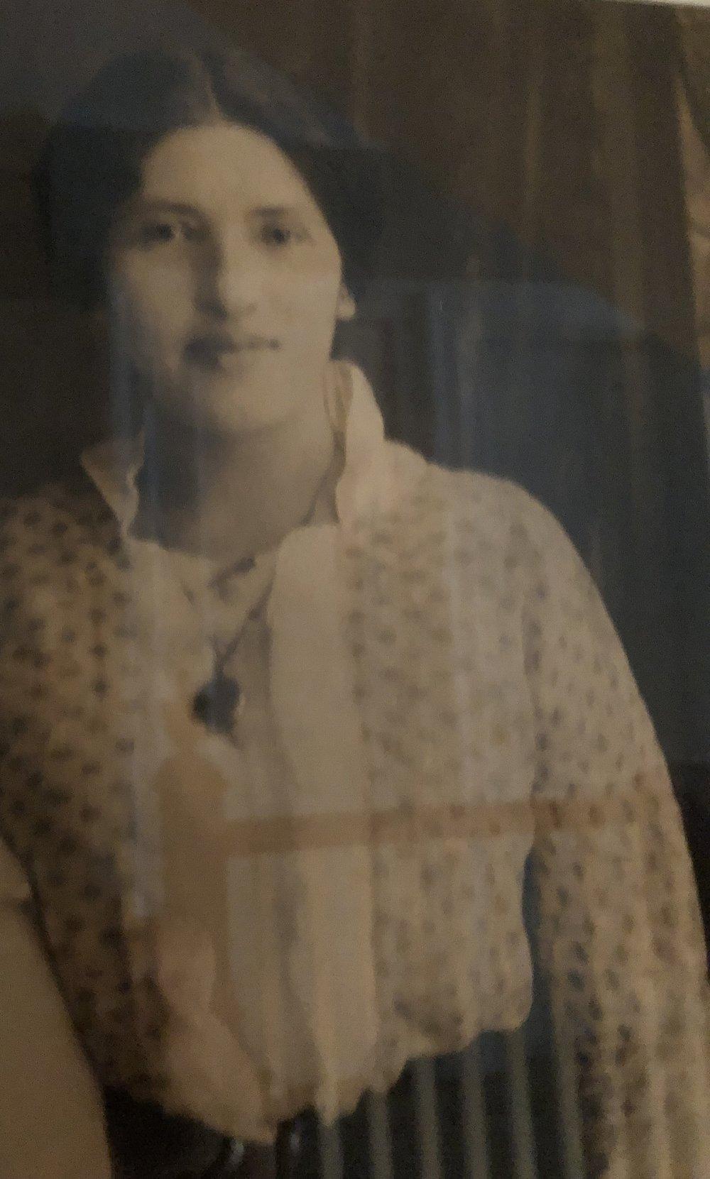 My maternal grandmother Rebecca (Beckie) Silber Friedman