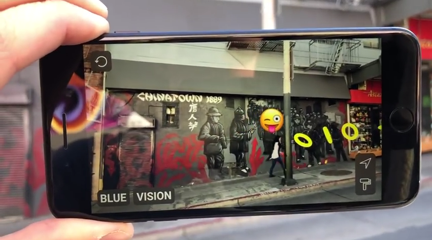 Blue Vision Labs SDK Possible Reality AR Avatar