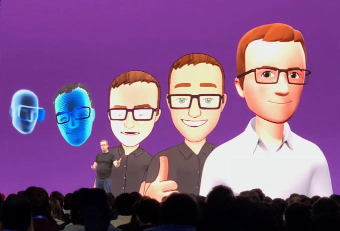 facebook VR avatar CTO Mike Schroepfer F8