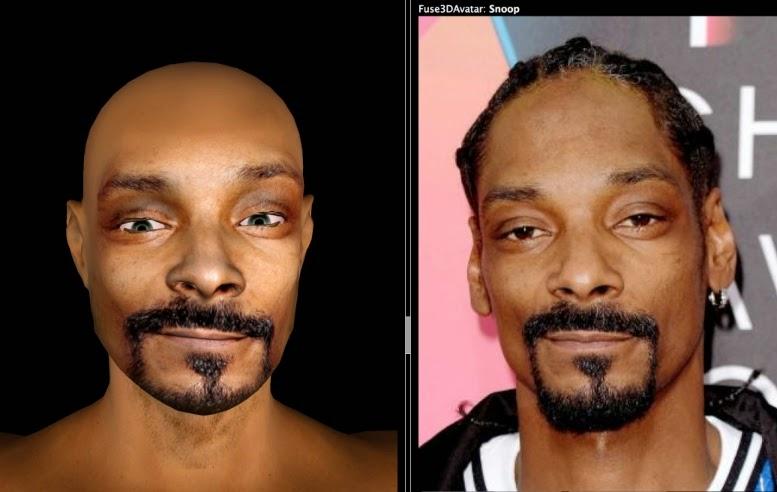 Snoop Dogg 3D Avatar