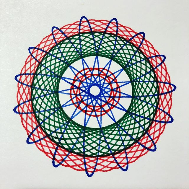 All grownups Spirograph, right?