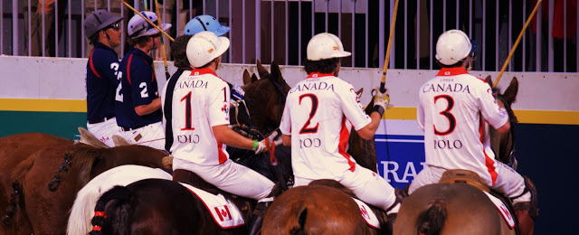 Pure Horse Sense Blog- Canada vs USA polo match at the royal winter fair
