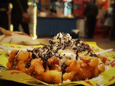 Pure Horse Sense Blog- Oreo Funnel Cake at the RAWF