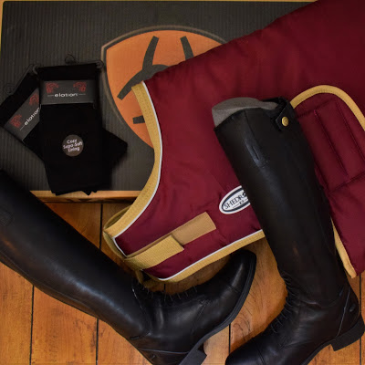 Ariat boots, socks and a dog's winter jacket. Greenhawk's warehouse sale haul | Pure Horse Sense Blog