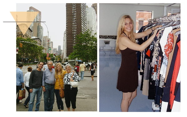 2007 - Move to NYC for the summer while I am still in high school. Intern at Diane von Furstenberg. Attend classes at the Fashion Institute of Technology. Fall even more madly in love with living in New York and working in fashion.
