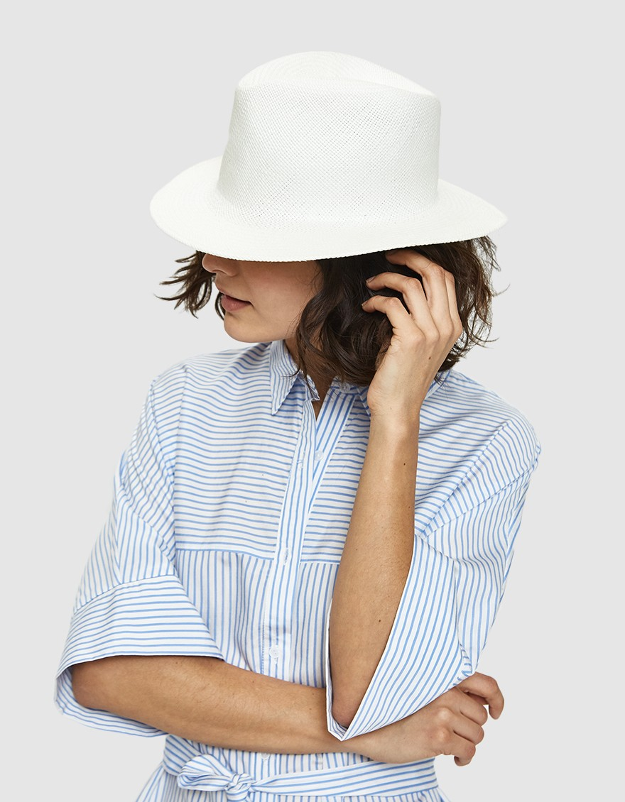 Clyde - A statement hat that is both structured and minimalist. Clyde is based in NYC.