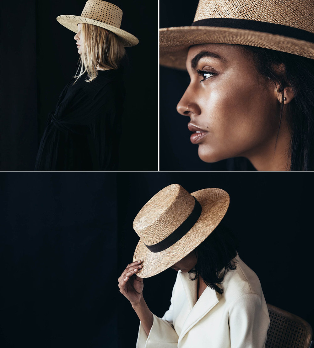 Janessa Leone - These hats are the epitome of chic. Established in 2013, Janessa creates hats that are sophisticated, timeless and unique. Each season just gets better and better.
