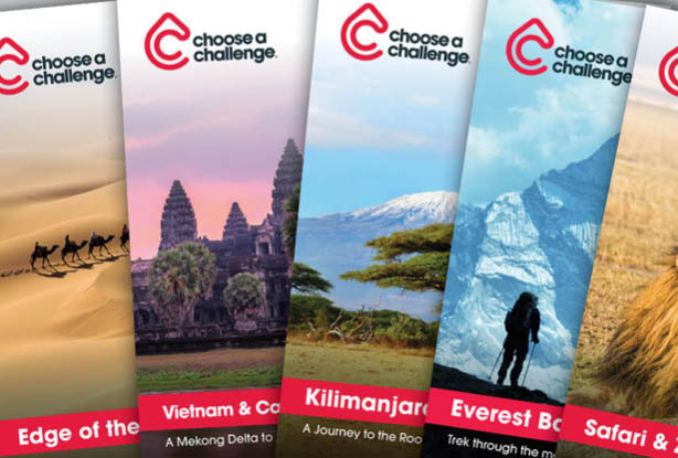 CHOOSE A CHALLENGE BROCHURES