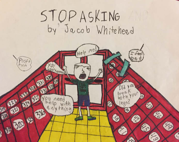 003 - STOP ASKING by Jacob Whitehead (age 10) in Tampa, Florida, USA