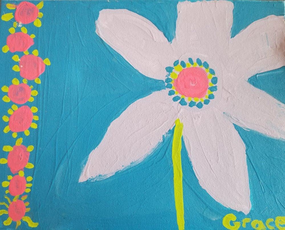 017 - RARE FLOWER by Grace Appman (age 8) in Haubstadt, Indiana, USA