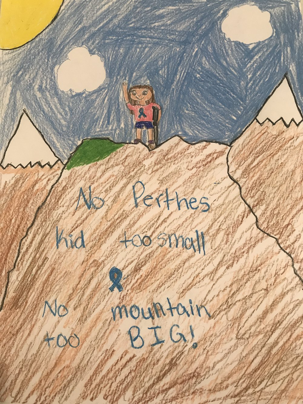 024 - PERTHES MOUNTAIN by Addison Rogers (age 11) from Altoona, Iowa, USA