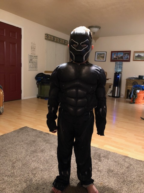 "Copy of Brayden Haagenson, Age 7, Oregon, Perthes (left hip), ""Black Panther"""