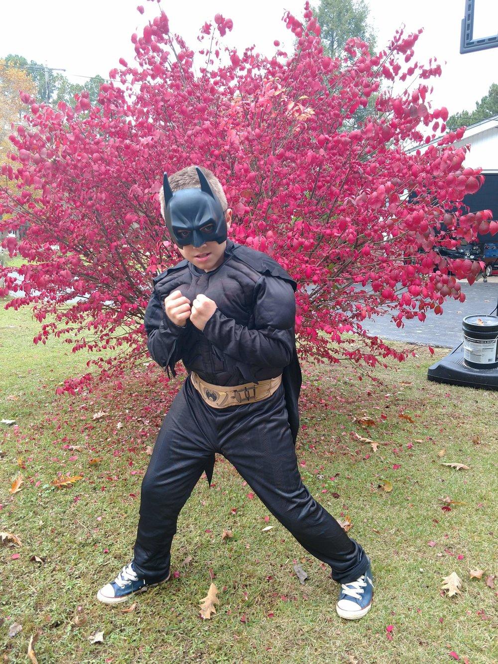 """Copy of Gavin Harris, Age 12, Paris, TN, Perthes (right hip), """"Batman"""""""